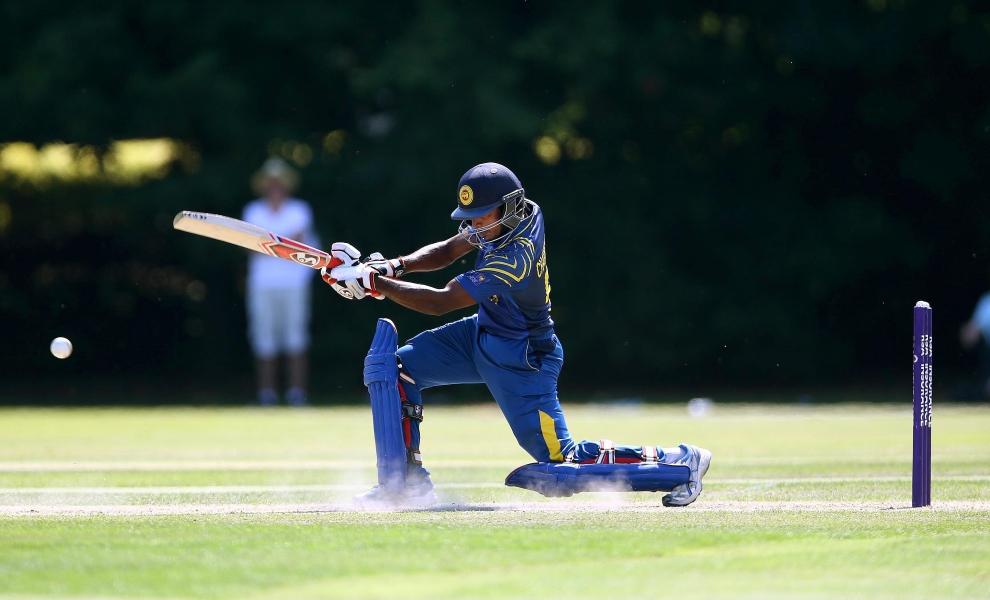 Chathuranga De Silva attended the Darren Lehmann Cricket Academy