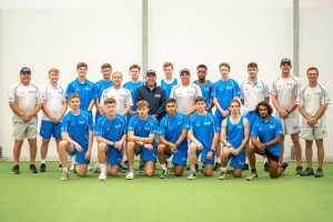 Darren Lehmann and the 2018/19 High Performance Program players