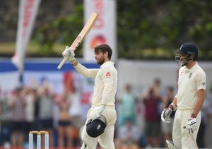 Foakes scores 100 on debut